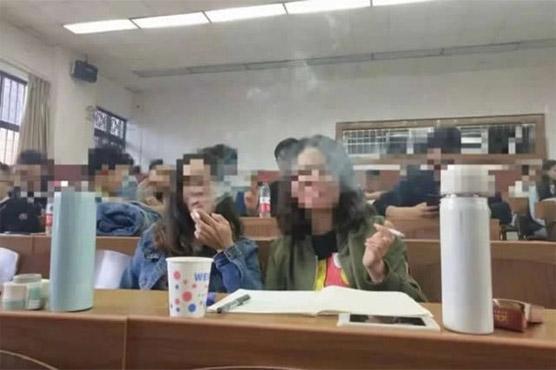 482359 91140439 - تمباکو پر لیکچر سمجھنے کیلئے کلاس میں سموکنگ کی اجازت مل گئی