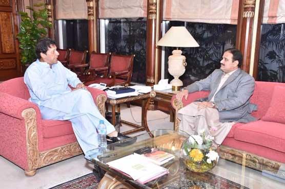 PM Imran meets Punjab CM, expresses resentment over MPAs' salary increase