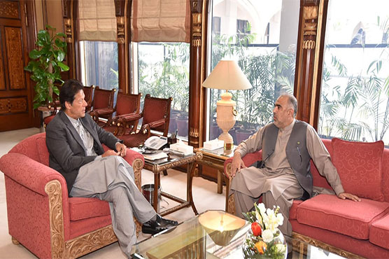 NA Speaker calls on PM Imran Khan