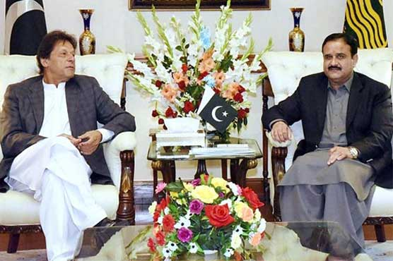 Angry PM Imran decides to give CM Buzdar another chance