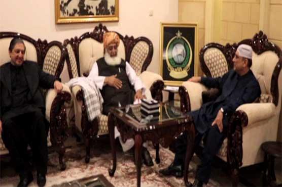 483420 38605588 - آصف زرداری کی فضل الرحمان سے ملاقات، سیاسی صورتحال پر بات چیت