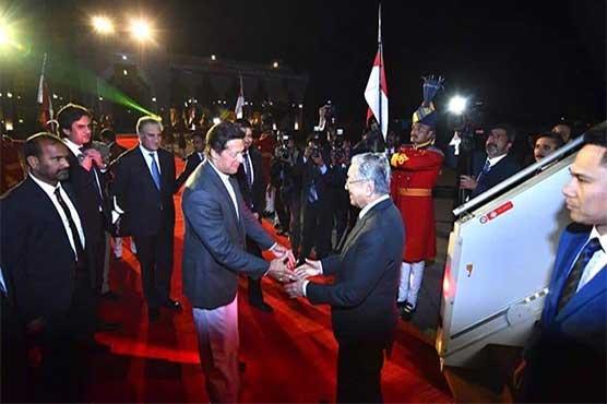 483469 51292925 - ملائیشیا کے وزیراعظم مہاتیر محمد اسلام آباد پہنچ گئے