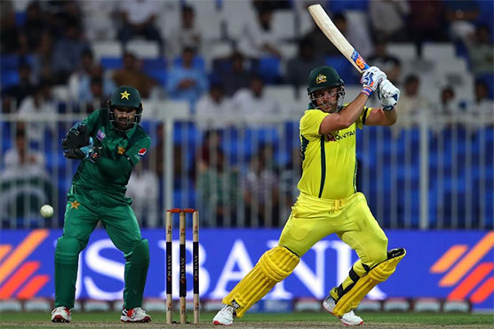 Finch's century fires Aus to eight-wicket win over Pak