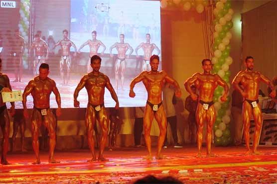 483707 66136037 - فیصل آباد میں تن سازی مقابلوں کا اہتمام، ملک بھر سے کھلاڑیوں کی ش