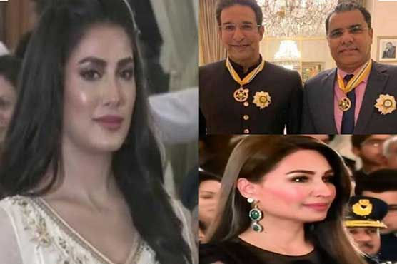 In pictures: Celebs conferred with civil awards on Pakistan Day