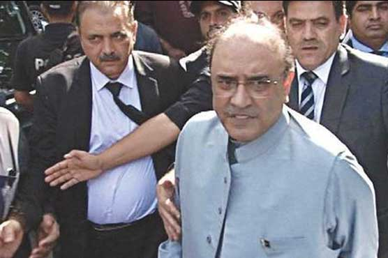 Polo Ground Reference: IHC to take up NAB's plea against Zardari's acquittal on April 18