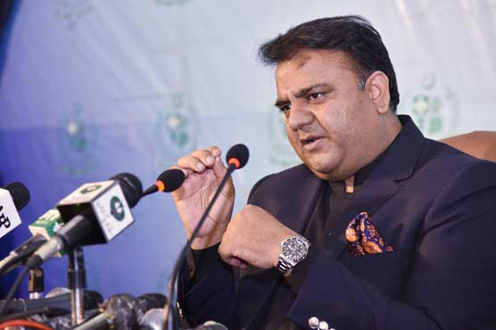 Nawaz can go abroad if he returns looted money: Fawad Chaudhry