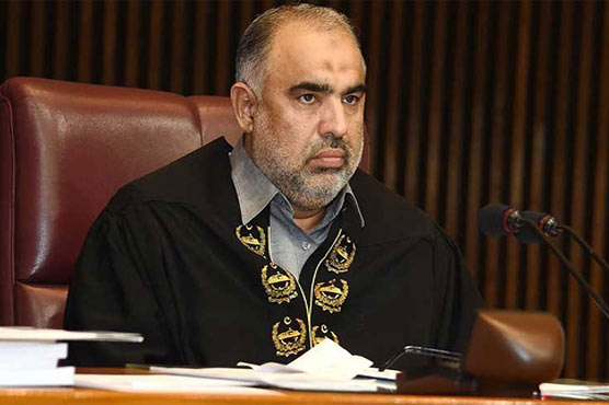 NA speaker expresses resentment over ministers' absence in session