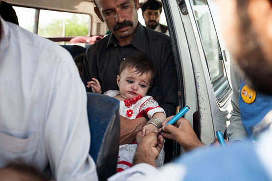Second polio case surfaces in Lahore in two days