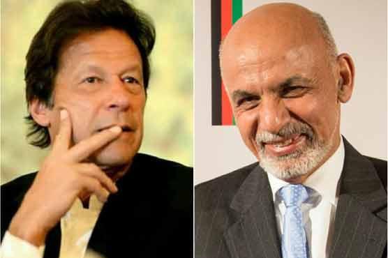 Ashraf Ghani telephones PM Imran, discusses peace process, regional connectivity