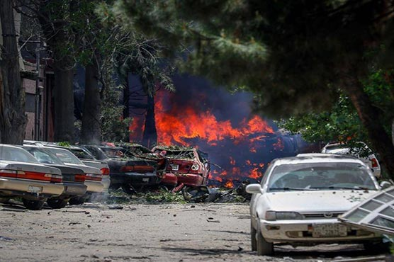 Kabul attackers target foreign aid group with blast, dozens wounded
