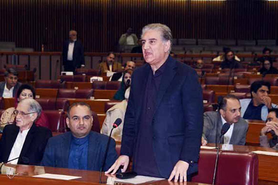 Pakistan wants to de-escalate tensions with India, Qureshi tells NA