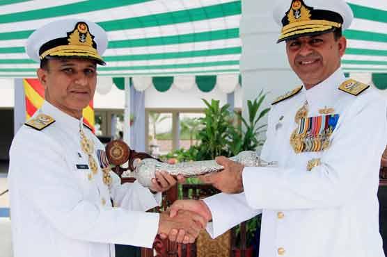 Vice Admiral Amjad Niazi takes over as Commander Karachi, Vice Admiral Asif Khaliq as Commander Pakistan Fleet