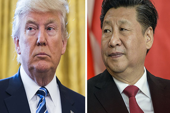 Trump calls trade war with China 'a little squabble'