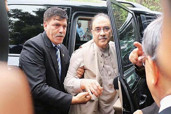 Zardari, Talpur granted pre-arrest bails in all cases