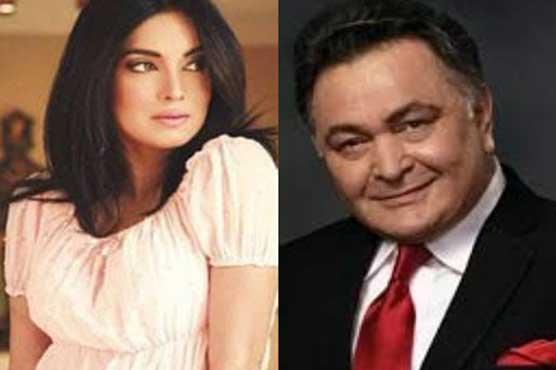 Aaminah Haq meets Rishi Kapoor in USA