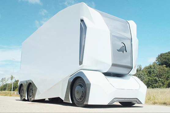 Driverless electric truck starts deliveries on Swedish public road