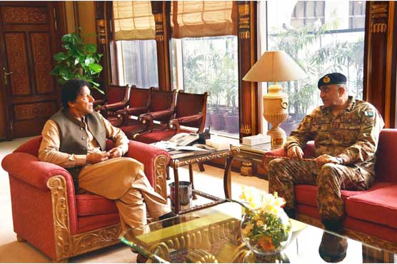 PM Imran, Army chief discuss security issues