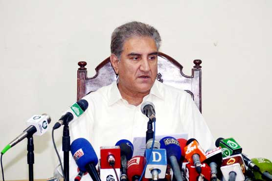Opposition should stage protest if it benefits country: FM Qureshi