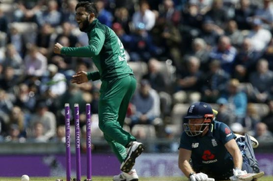 Imad proud of Pakistan's efforts against England