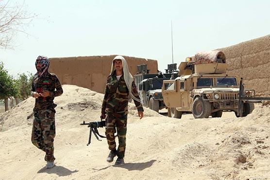 Afghan security forces killed in US strike in Helmand