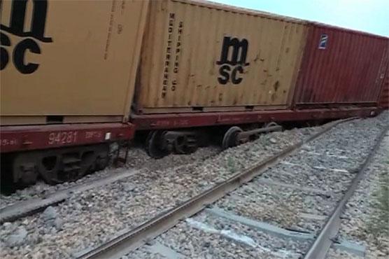 Padidan: Up railway track restored after cargo train derailment