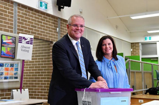 Australia's conservative government revels in 'miracle' re-election