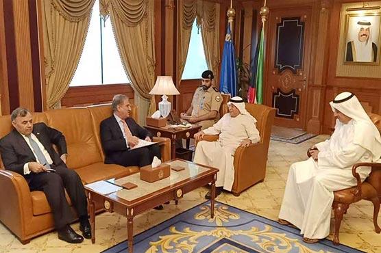 FM Qureshi urges Kuwaiti authorities to soften visa policy for Pakistani community