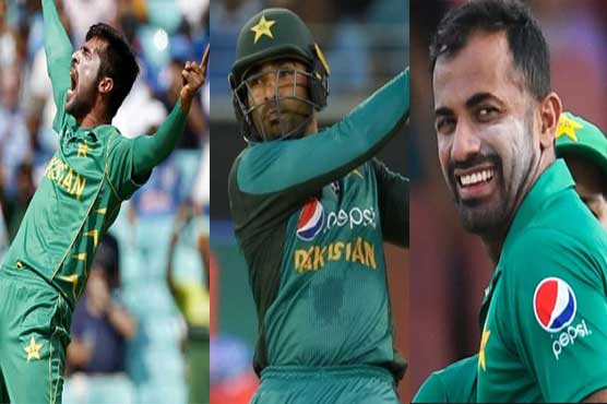 World Cup 2019: Mohammad Amir, Wahab Riaz and Asif Ali