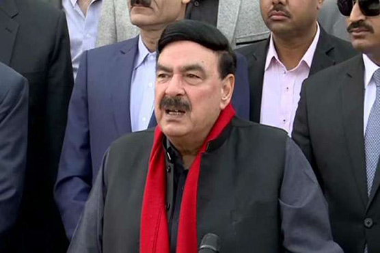 Imran Khan not ready to give NRO to plunderers: Sheikh Rasheed