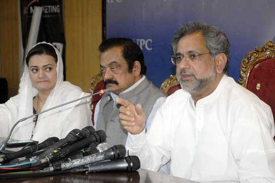 NAB chief has no right to insult politicians: Shahid Khaqan Abbasi