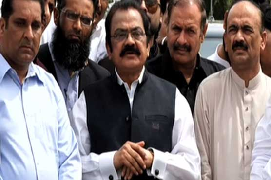 'Incompetent' prime minister and Pakistan can't function simultaneously: Rana Sanaullah