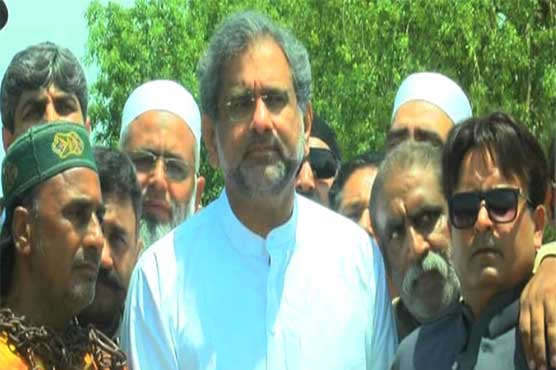 Time has come to send government packing: Shahid Khaqan