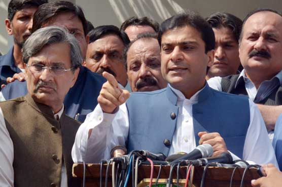 PM Imran will ruin economy if given more time: Hamza Shahbaz