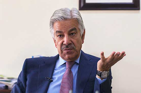 Treasury members stage protest as Khawaja Asif takes NA floor