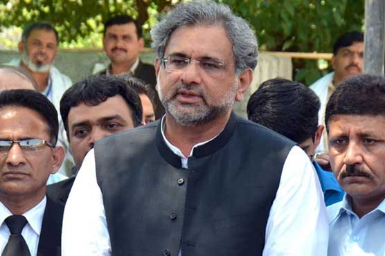 Abbasi urges nation to come out against failed govt