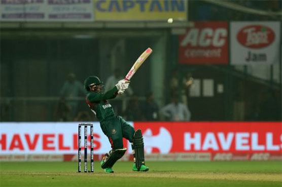 Mushfiqur leads Bangladesh to first T20 win over India in pollution-hit Delhi