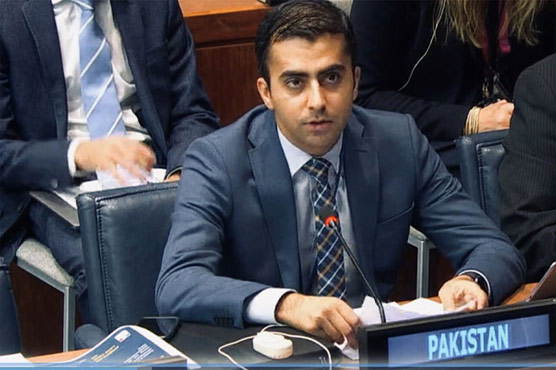 Pakistan urges prevention of outer space as 'a new realm of conflict and arms race'