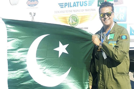 Fakhr-e-Alam wants to hoist Pakistani flag in space