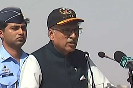 Pakistan armed forces ready for any internal, external challenges: President Alvi