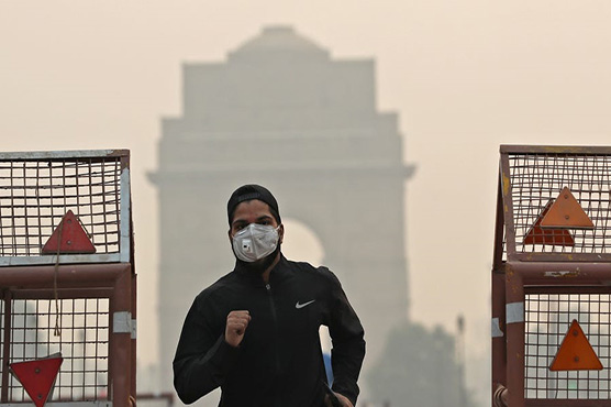 BJP leader idiotically blames Pakistan, China for New Delhi's air pollution