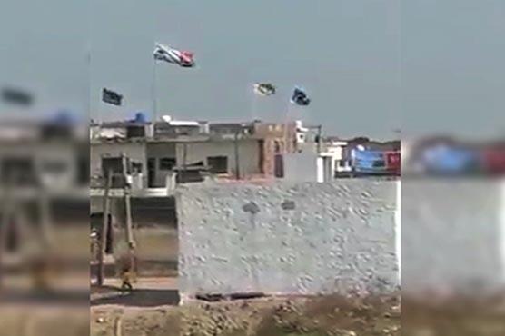 Pakistani flags hoisted in India's Jalandhar for opening Kartarpur Corridor