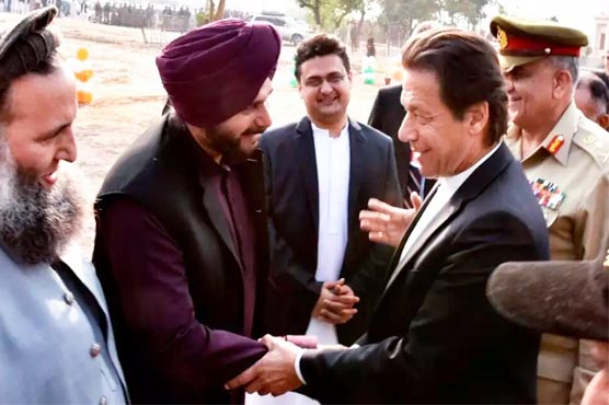 India allows Navjot Singh Sindhu to go to Pakistan for Kartarpur Corridor inauguration