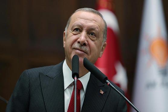 Erdogan says U.S. not fulfilling Syria deal ahead of Trump talks
