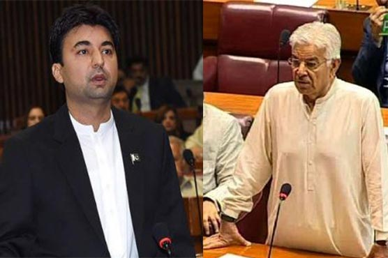 Murad Saeed, Khawaja Asif exchange harsh words in NA
