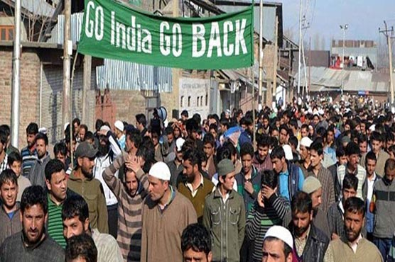 Anti-India protests held in occupied Kashmir