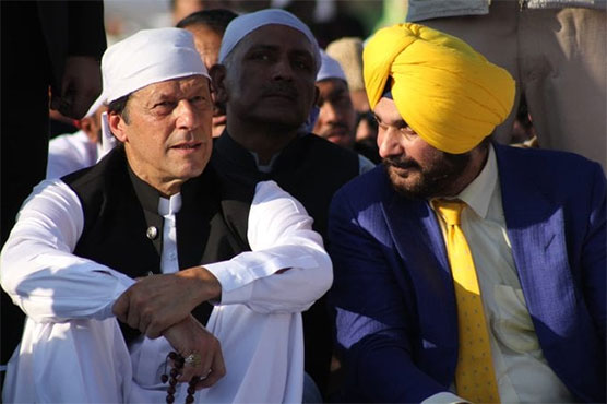 People like Imran Khan make history: Navjot Singh Sidhu