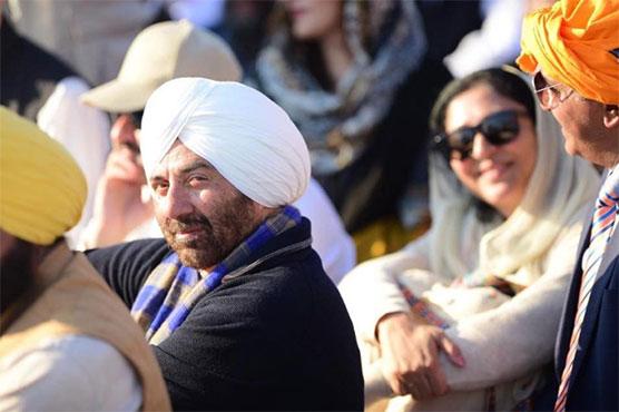 Sunny Deol hopes Kartarpur Corridor will bring peace between Pakistan, India