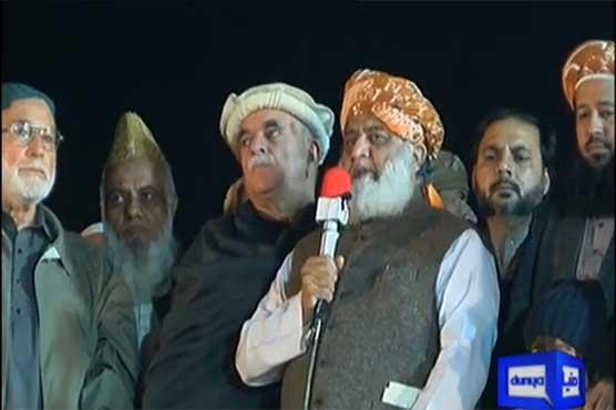 War against govt will continue, we cannot retreat: Fazlur Rehman