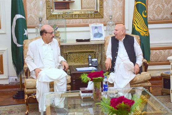 AJK President, Governor Punjab condemn Indian plan of changing Muslim areas' names in IoK